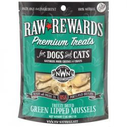 NW NATURALS FREEZE DRIED GREEN LIPPED MUSSELS 2oz BAG