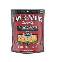 NW NATURALS FREEZE DRIED BEEF LIVER 3oz BAG