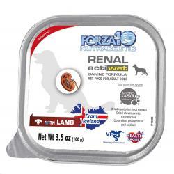FORZA ACTIVE  DOG RENAL LAMB 3.5oz CAN