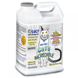 LUCY PET CAT LITTER UNSCENTED 20LB JUG