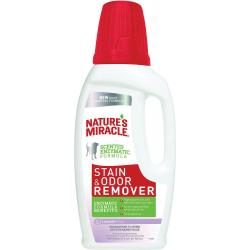 NATURES MIRICALE STAIN AND ODOR REMOVER LAVENDER 32oz