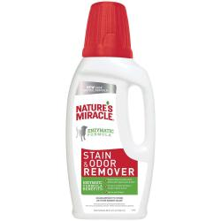 NATURES MIRICALE STAIN AND ODOR REMOVER  32oz