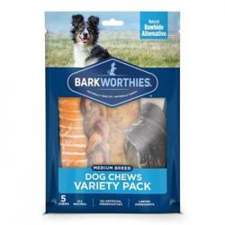 BARK WORTHIES VARIETY PACK MEDIUM SIZES