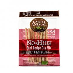 EARTH ANIMAL NO HIDE BEEF STIX 10/PACK