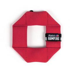 KATIES BUMPERS MINI SQUARE RED
