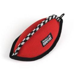 KATIES BUMPERS FOOTBALL RED