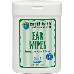 EARTH BATH EAR CLEANING WIPES 25 CT