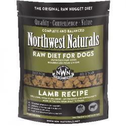 NORTHWEST NATURALS DOG RAW LAMB NUGGETS 6LB BAG