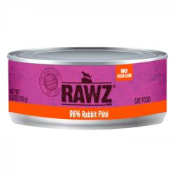 CASE RAWZ CAT RABBIT PATE 5.5 OZ CASE OF 24 CANS