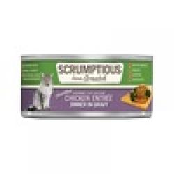 CASE SCRUMPTIOUS CAT SIMPLY CHICKEN 2.8 OZ CASE OF 12 CANS