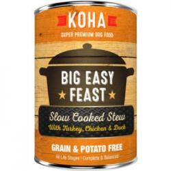 CASE KOHA DOG STEW BIG EASY FEAST 12.7oz CAN CASE OF 12 CANS