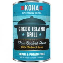 CASE KOHA DOG STEW GREEK ISLAND GRILL 12.7oz CAN CASE OF 12 CANS