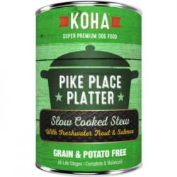 CASE KOHA DOG STEW PIKES PLACE PLATTER 12.7oz CAN CASE OF 12 CANS