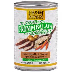 CASE FROMM DOG FROMMBALAYA TURKEY STEW 12.5oz CAN CASE OF 12 CANS