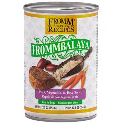 CASE FROMM DOG FROMMBALAYA PORK STEW 12.5oz CAN CASE OF 12 CANS