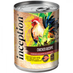 CASE INCEPTION DOG CHICKEN 13oz CAN CASE OF 12 CANS