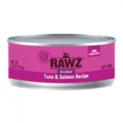 CASE RAWZ CAT SHEDDED  TUNA & SALMON 5.5 oz CAN CASE OF 24