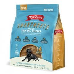 Missing Link Smartmouth Dental Chew Large/XL Dog 14 Ct