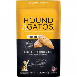 HOUND GATOS CAT KIBBLE CHICKEN 6LB