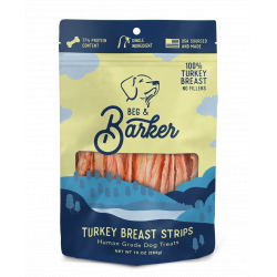 BEG & BARKER TURKEY STRIPS 8oz BAG