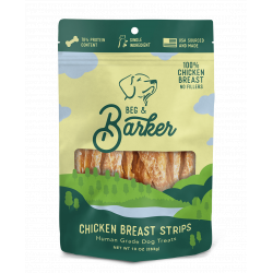 BEG & BARKER CHICKEN STRIPS 4oz BAG