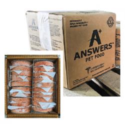 Answers Frozen Detailed Pork Patties Bulk 40 Ct 20LB