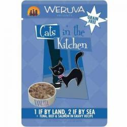 CASE OF 12 WERUVA CAT  1 IF BY LAND, 2 IF BY SEA 3oz POUCH
