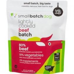 Small Batch Dog Frozen Lightly Cooked Beef 2lb