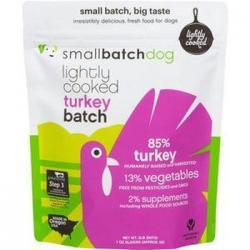 Small Batch Dog Frozen Lightly Cooked Turkey 2lb