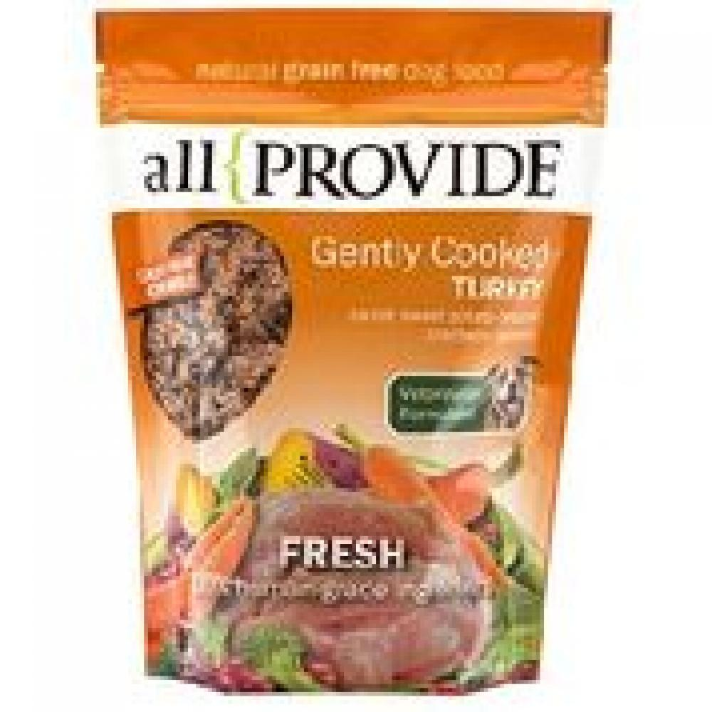 ALL PROVIDE GENTLY COOKED TURKEY  FROZEN 2 LB BAG