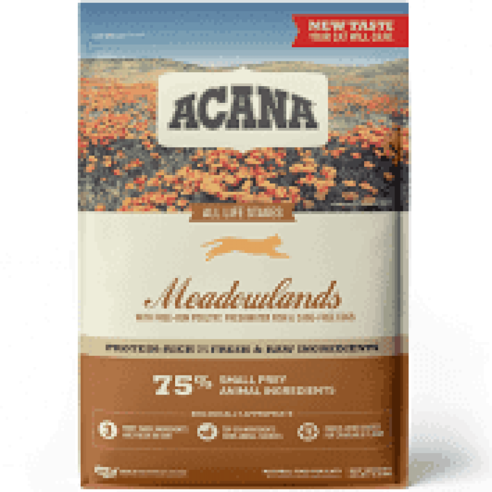 ACANA CAT MEADOWLAND GRAIN FREE 4LB