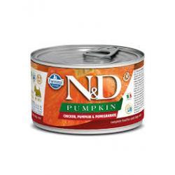 FARMINA CHICKEN, PUMPKIN & POMEGRANATE ADULT MINI WET FOOD