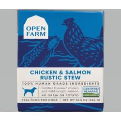 Chicken & Salmon Rustic Stew