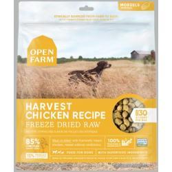 OPEN FARM Harvest Chicken Freeze Dried Raw Dog Food