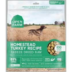 OPEN FARM Homestead Turkey Freeze Dried Raw Dog Food