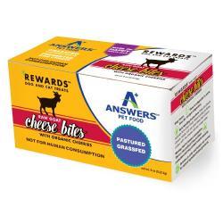 ANSWERS Rewards Raw Goat Cheese – Organic Cherries