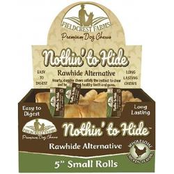 NOTHIN' TO HIDE RAWHIDE ALTERNATIVE CHCKEN ROLL SMALL INDIVIDUAL