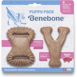 BENEBONE D WISHBONE & DENTAL PUPPY 2PK