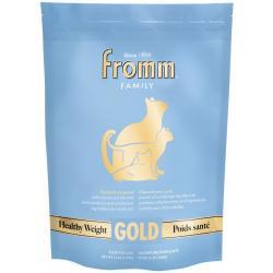 FROMM CAT GOLD HEALTHY WT 4LB