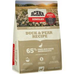Acana Dog Singles Duck & Pear Dog-4.5 lb Bag