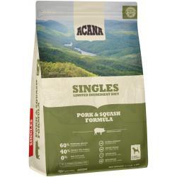 Acana Dog Singles Pork & Squash Dog-4.5 lb Bag