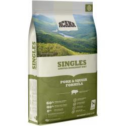 Acana Dog Singles Pork & Squash Dog-25 lb Bag