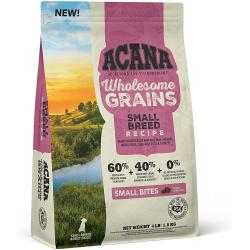 ACANA Dog-Wholesome Grains-Small Breed-4 lb Bag