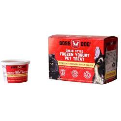 Boss Dog Cheddar & Bacon Frozen Yogurt Dog & Cat 4PK