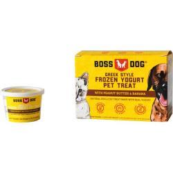 Boss Dog Peanut Butter & Banana Frozen Yogurt Dog & Cat 4PK