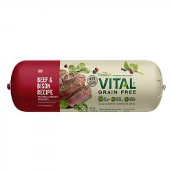 FRESHPET VITAL® GRAIN FREE BEEF & BISON RECIPE WITH SPINACH, CRANBERRIES & BLUEBERRIES FOR DOGS 5LBS