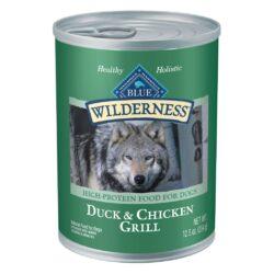 BLUE BUFFALO WILDERNESSS DCK/CKN DOG 12.5Z
