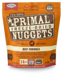 PRIMAL CANINE FREEZE-DRIED NUGGETS BEEF 14OZ