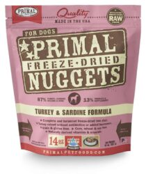 PRIMAL CANINE FREEZE-DRIED NUGGETS 14OZ