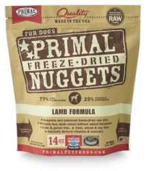 PRIMAL CANINE RAW FROZEN NUGGETS LAMB 14OZ